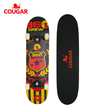 Factory direct fashion design maple hand board skateboard