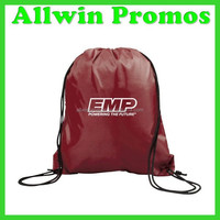 Custom Waterproof Promotional Gift Nylon Drawstring Bag