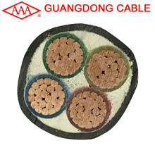 Multicore 3 core 4 core 5 core swa armored copper ABC XLPE power supply cable prices per meter