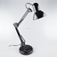 Factory Price Black Mordern Foldable Writing Table Lamp For Work Office Indoors
