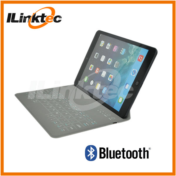 For ipad 5 Wireless Keyboard Ultra thin Bluetooth keyboard Case 9.7inch