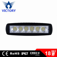 18W BRIDGELUX led Work Lamp forklight Light off Road High Power ATV Jeep 4x4 Tractor Fog Driving Bar