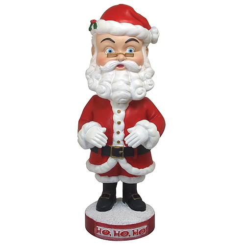 New Arrival Buy Resin Santa Christmas Bobble Head
