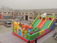 Giant Inflatable Water Slide for Adult,Big Water Slide,Large Inflatable Slide with Pool for Sale