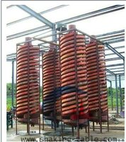 High Concentration Spiral Chute Iron Ore Preparation Equipment