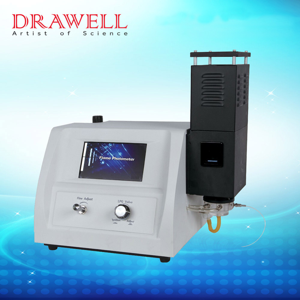 DW-FP640 LCD display Lab equipment of Flame Photometer