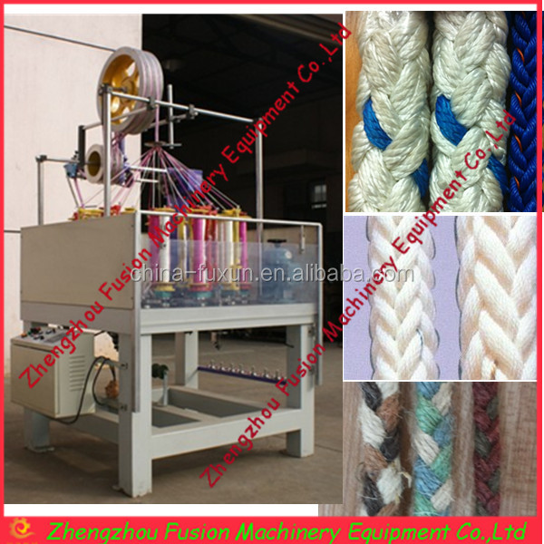 18 spindles special used rope braiding machines