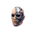 China factory OEM personalized skull head plastic figure toys