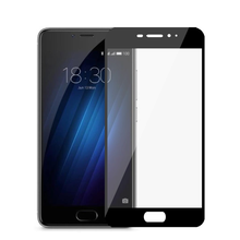 Full Cover 9H Clear Tempered Glass Screen Protector For Meizu Meilan M3S