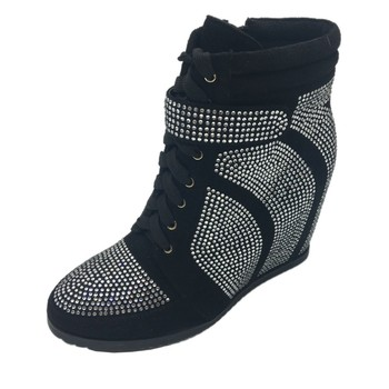 Lady shoe women high heel wedge winter boots shoes