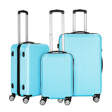 Luggage Set 3pcs luggage bags cases with retractable wheels