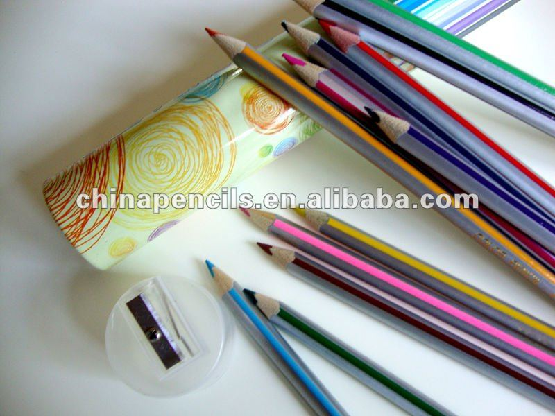 High-quality Color Pencil & colour pencil for kids/stationery & FSC wood