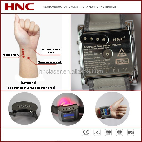 Low level laser natural blood pressure control health product