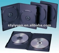 14mm black dvd case double