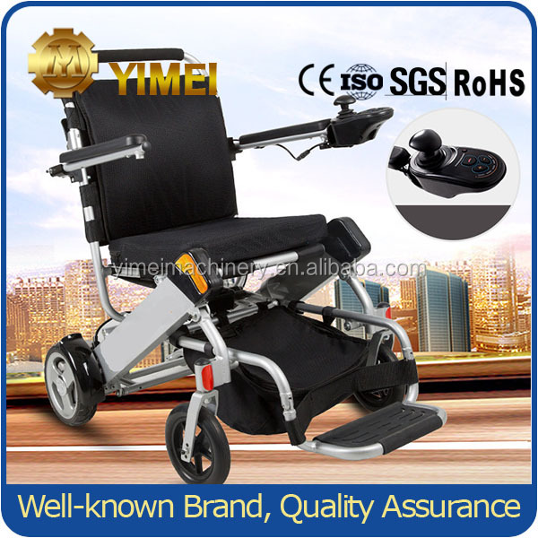 reclining handicapped electric wheelchair