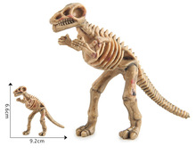 dinosaur 3d model OEM animal figurine toys walking dinosaur model dinosaur skeleton model