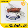 Mini Wooden Handle multi knife with saw function