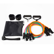 2017 Best Selling Resistance Bands,11 pcs resistance bands set
