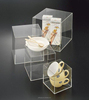 Crystal Perspex Display Case Customized Design Clear Display Acrylic Boxes