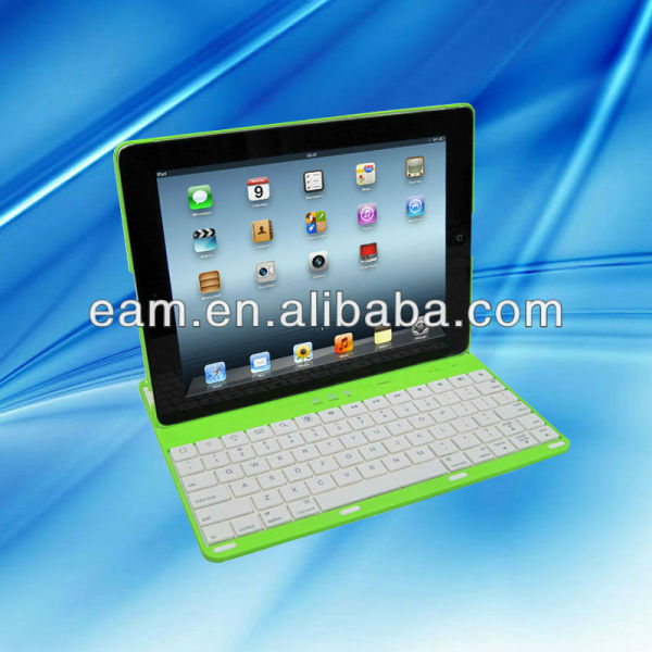 360 degree rotating bluetooth keyboard case for iPad2/iPad3