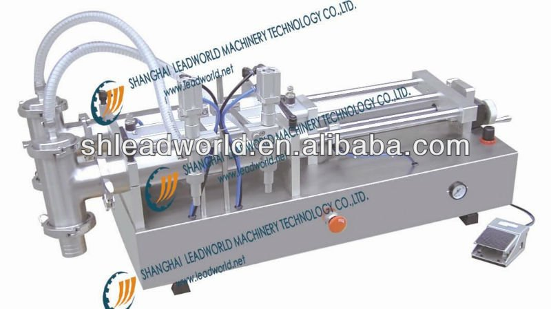 Shanghai Double head doy pack filling machine