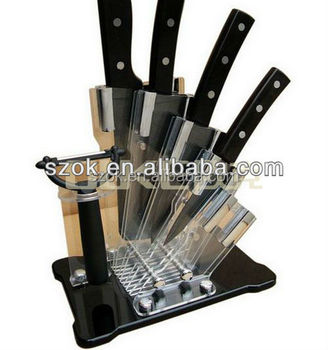 High quality fashion 5 pcs funny kitchen knife set for for Funny kitchen set
