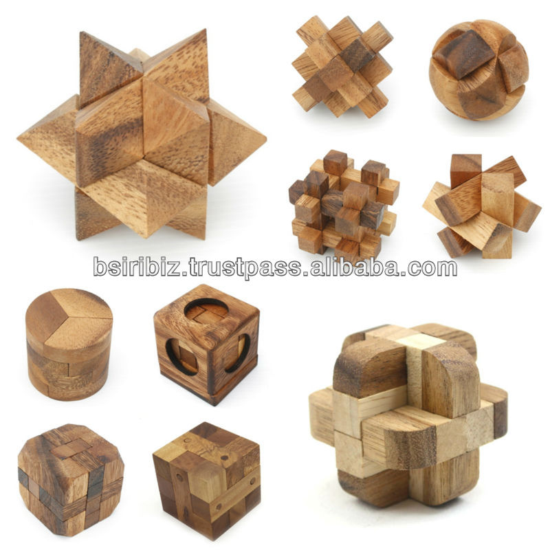 3D Jigsaw wooden puzzle