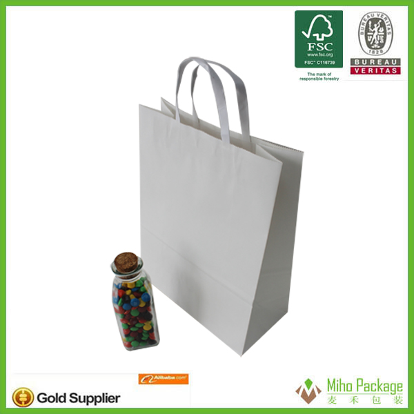 2013 printed paper bag,chips paper bag,kraft paper bags with print