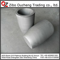 aluminium melting graphite crucible,graphite pot