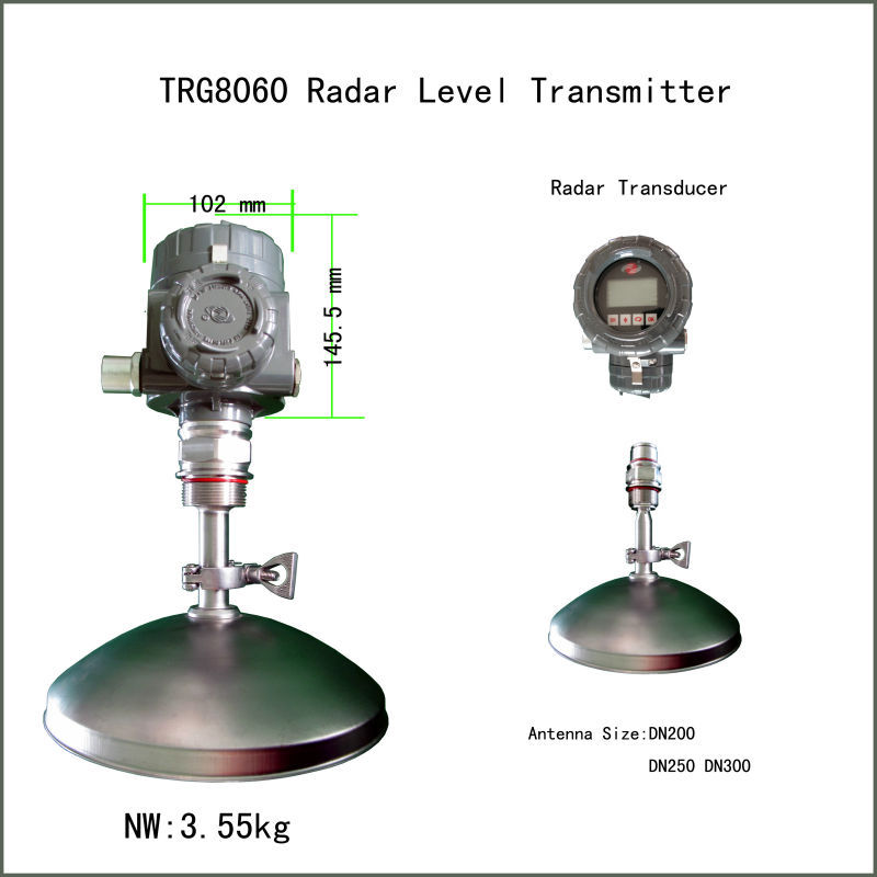 radar distance measurement liquid water level measurement