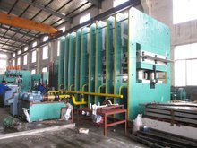 Rubber conveyor belt vulcanizing machine/Conveyor belt vulcanizing process