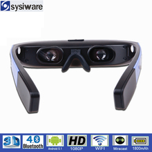 Factory price LCD screen android 5.1 1080p HD virtual reality 3d video glasses
