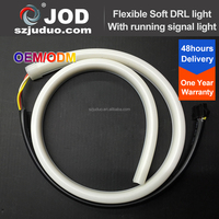 600mm 900mm Dual Color Flexible LED DRL/ Daytime Running Light