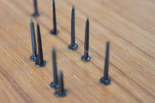 fine blue round head shoe tack nails for shoe