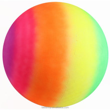 non-toxic 6P free custom design pvc textured color painting inflatable giant bouncing beach ball toys