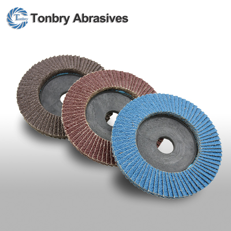 aluminum oxide abrasive flap disc for stainless steel polishing