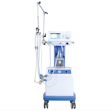 NLF-200A China supplier new products new born infant baby emergency breathing neonatal ICU ventilator with bubble cpap machine