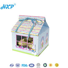 Cardboard box 1-Layer SBB wholesale paper pvc cupcake boxes with window