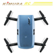 JJRC H47 ELFIE Drones Foldable RC Pocket Selfie Drone Dron With WiFi FPV 720P HD Camera G-Sensor Controller Helicopter Waypoints