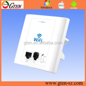 Indoor Embedded WIFI bridge 300Mbps 48V POE 2.4ghz wireless repeater