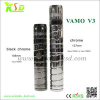 most popular products 2013 vamo chrome/black chrome e-cigarette color