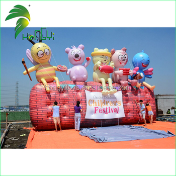 Giant Inflatable Cartoon Characters Model for the Outdoor
