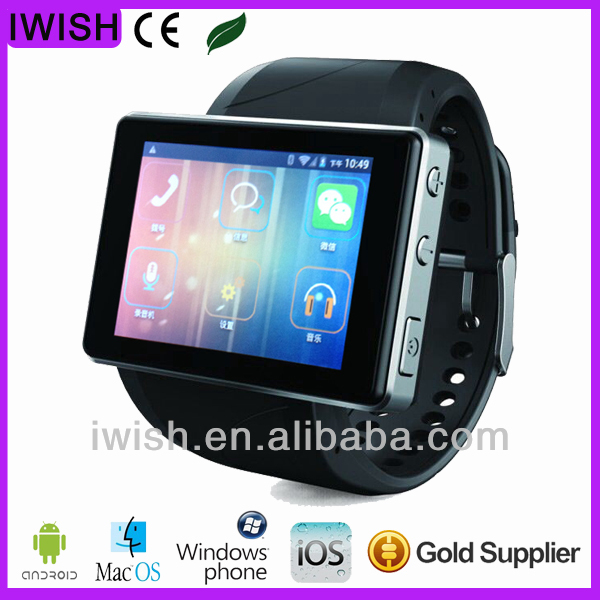 android 4.0 wrist watch phone with tv