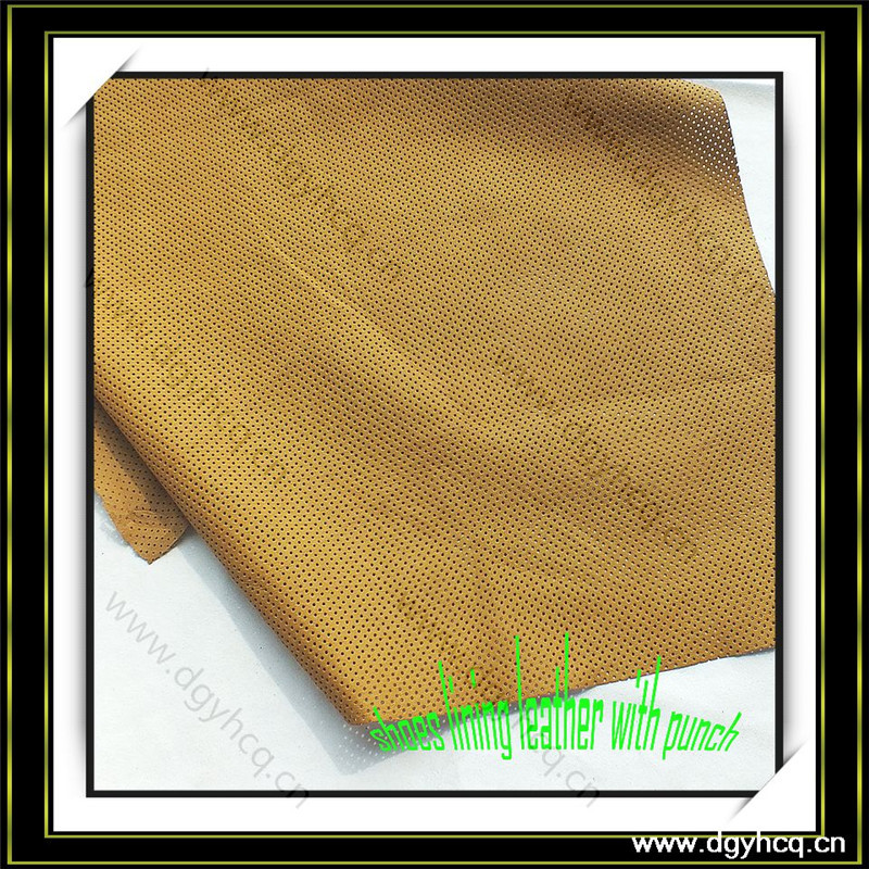 Breathable wear resistence inner leather for shoes