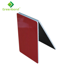 Greenbond decorative mirror reflective exterior new building facade materials