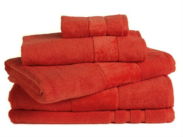 Egyptian Cotton Orange Bath Towel