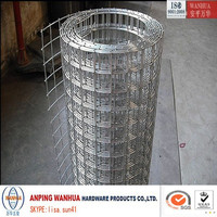 Anping Wanhua--bird cage galvanized welded wire mesh roll factory