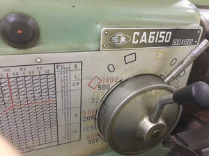 cheap price 500mm*1500mm secondhand lathe used machine on sale