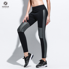 New Design Top Quality Women Sports Night Reflective Running Gym Yoga Fitness Stretchy Leggings with Own Color for Women