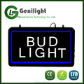 New design Bud Light Beer LED Neon Sign Customed Beer Bar Pub Wall Signs